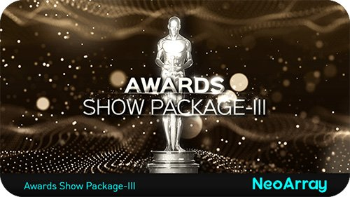 Awards Show Package III - Project for After Effects (Videohive)