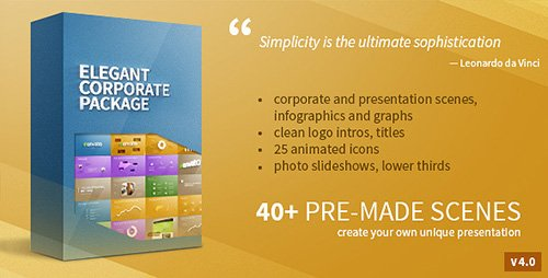 Elegant Corporate Package - Project for After Effects (Videohive)