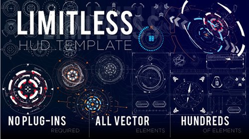 Limitless HUD Template - Project for After Effects (Videohive)