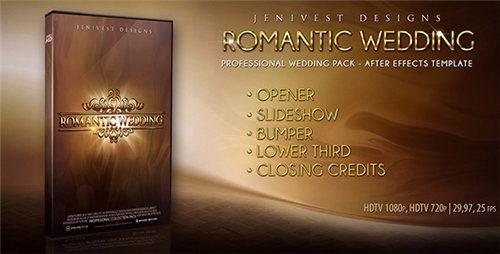 Romantic Wedding - Project for After Effects (Videohive)
