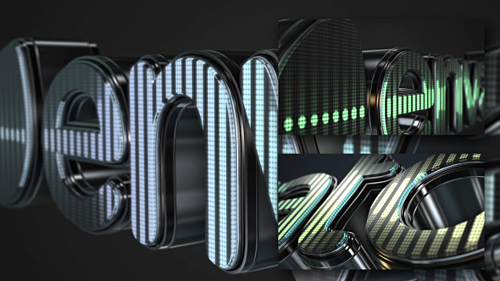 3D LED Logo Equalizer - Project for After Effects (Videohive)