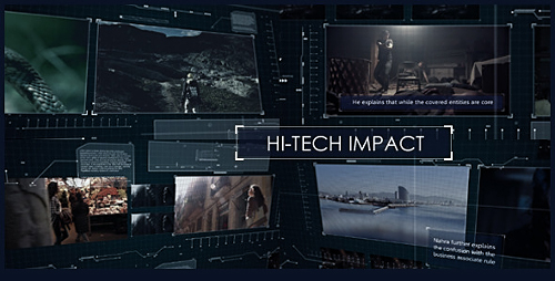 Hi-Tech Impact - Project for After Effects (Videohive)