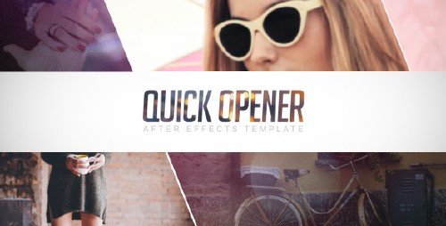 Quick Opener - Project for After Effects (Videohive)