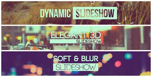 Slideshow Pack 3 in 1 - Project for After Effects (Videohive)