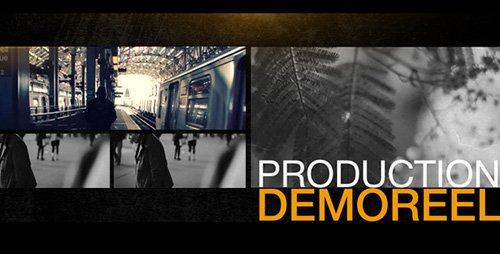 Production Demo Reel - Project for After Effects (Videohive)