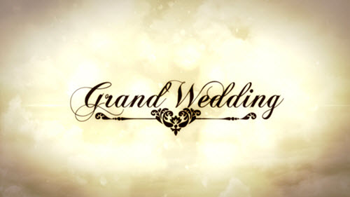 Grand Wedding - Project for After Effects (Videohive)