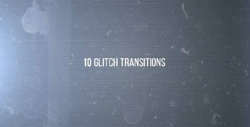 10 Glitches - Project for After Effects (Videohive)