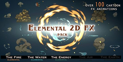 Elemental 2D FX pack - Motion Graphics (Videohive)