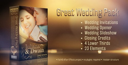 Wedding Pack - Lovely Memories - Project for After Effects (Videohive)