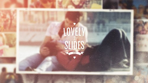Lovely Slides II - Project for After Effects (Videohive)