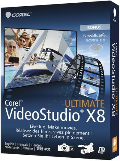 Corel VideoStudio X8 18.0.0.181 Ultimate + Content (2015/ML/RUS)