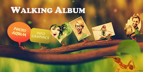Walking Album - Project for After Effects (Videohive)