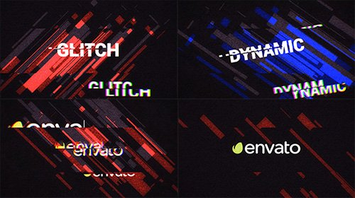 Glitch Logo Opener - Project for After Effects (Videohive)