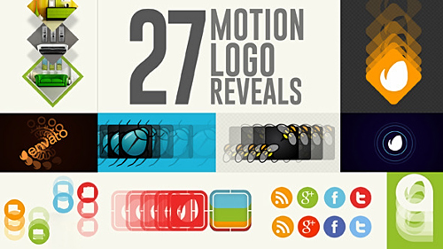 27 Motion Logo Reveals - Project for After Effects (Videohive)