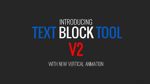 Text Block Tool - Project for After Effects (Videohive)
