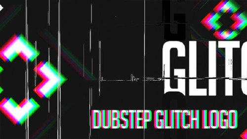 Dubstep Glitch Logo - Project for After Effects (Videohive)