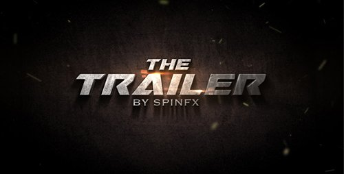 The Trailer - Project for After Effects (Videohive)