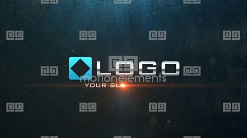 Light Particle Metal Sparks Business Logo Reveal Intro - After Effects Project