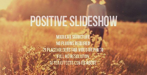 Positive Slideshow - Project for After Effects (Videohive)