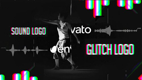 Sound Glitch - Logo Reveal - Project for After Effects (Videohive)
