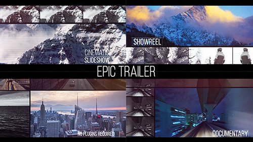 Epic Trailer - Project for After Effects (Videohive)