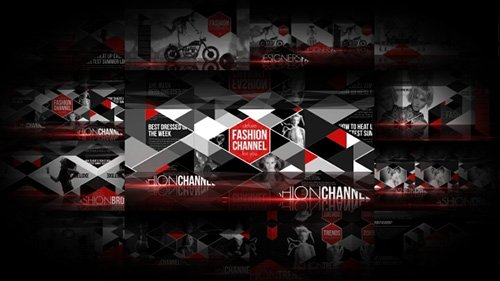 Fashion Broadcast Package - Project for After Effects (Videohive)