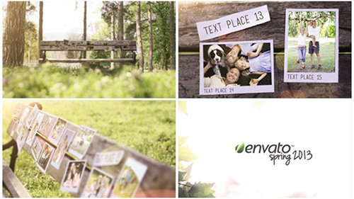 Bench Photo Gallery- Project for After Effects (Videohive)