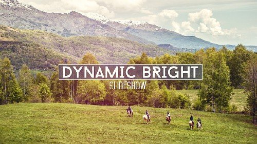 Dynamic Bright Slideshow - Project for After Effects (Videohive)