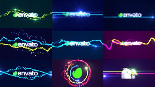 Fast Logo Streaks Pack - Project for After Effects (Videohive)