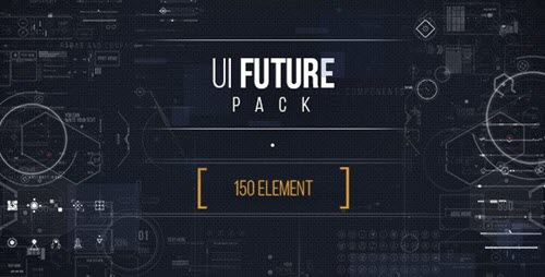 UI Future Pack - Project for After Effects (Videohive)