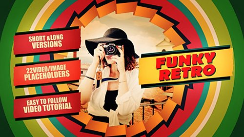 Funky Retro - Project for After Effects (Videohive)