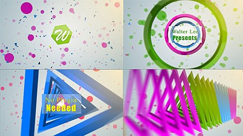 Shape Logo Reveal 5 In 1 - Project for After Effects (Videohive)
