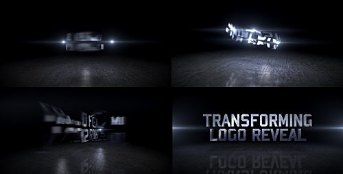 Transforming Logo Reveal - Project for After Effects (Videohive)