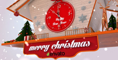 Christmas Cuckoo Clock - Project for After Effects (Videohive)