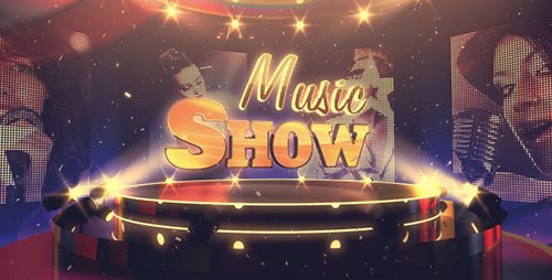 Music Show - Project for After Effects (Videohive)