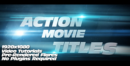 Action Movie Titles - Project for After Effects (Videohive)