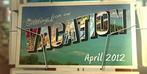 Postcard Vacation - Project for After Effects (Videohive)