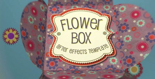 Flower Box Display - Project for After Effects (Videohive)