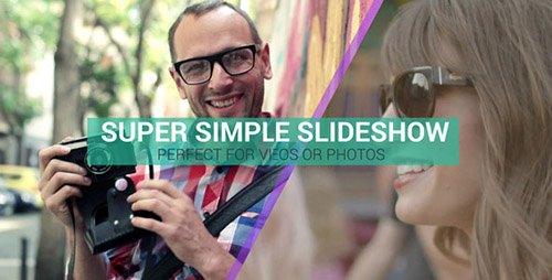 Super Simple Slideshow - Project for After Effects (Videohive)