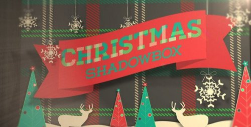Christmas Shadowbox Display - Project for After Effects (Videohive)