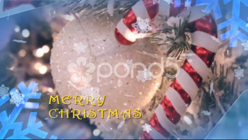 Christmas Slideshow - Project for After Effects (Pond5)