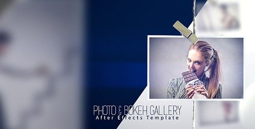 Photo & Bokeh Gallery - Project for After Effects (Videohive)