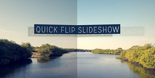 Quick Flip SlideShow - After Effects Template (FluxVfx)