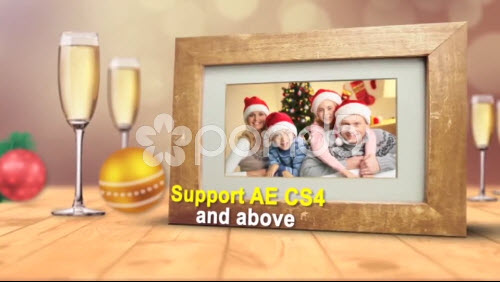 Christmas Holiday Frames - Project for After Effects (Pond5)
