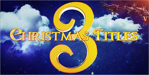 Christmas Titles 3 - Project for After Effects (Videohive)