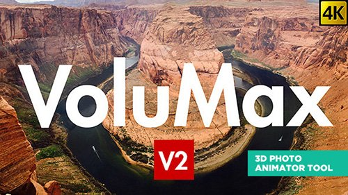 VoluMax - 3D Photo Animator Tool - Project for After Effects (Videohive)