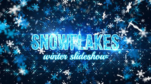 Snowflakes (winter slideshow) - Project for After Effects (Videohive)
