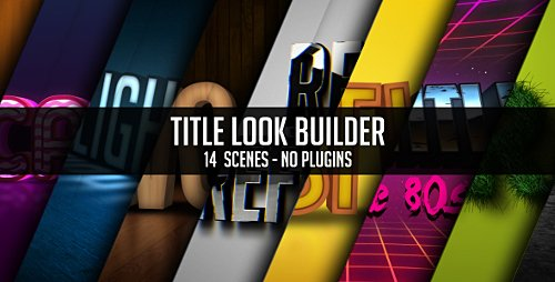 Title Look Builder - Project for After Effects (Videohive)
