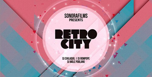 Retro City - Project for After Effects (Videohive)