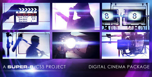 Digital Cinema Package - Project for After Effects